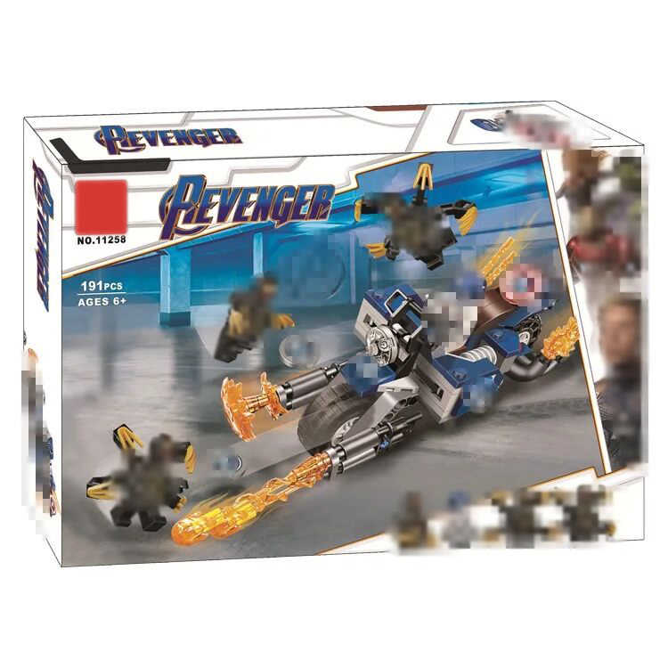 Super Heros Compatible 76123 Outriders Attack Set Model Building Blocks Christmas Birthday Gift Toys For Children 191pcs 11258