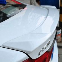 For Car Styling For  Honda City 2015 2016 2017 Exterior ABS Plastic Material Unpainted Primer  Rear Boot Trunk Wing Lip Spoiler
