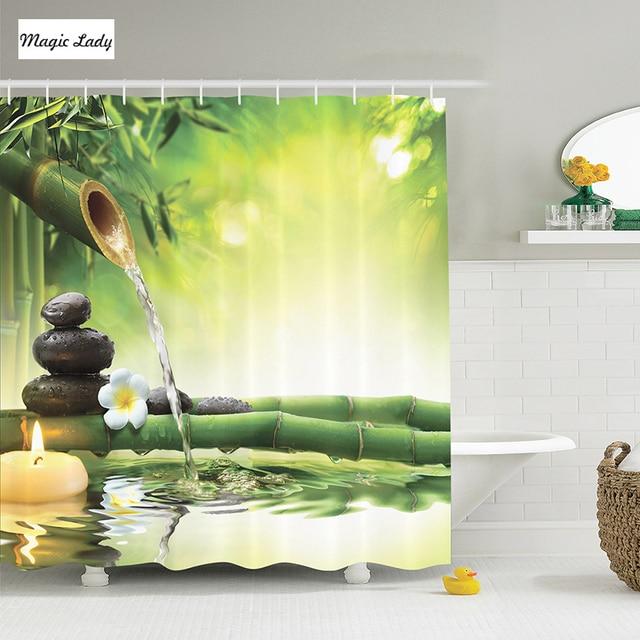 Spa Decor Zen Jardin Fleur De Jasmin Japonais Bambou Bougie Magique