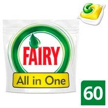 Капсулы для посудомоечной машины Fairy Original All In One Лимон(60 штук