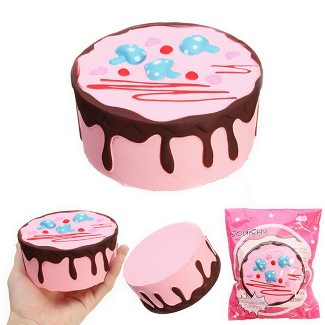 Yunxin For Squishy Mushroom Birthday Cake 11cm Sweet Slow Rising