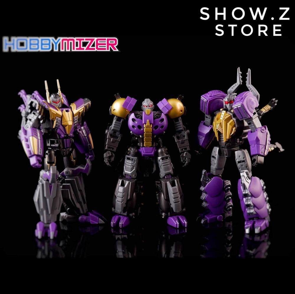 [Show.Z Store]Planet X PX-17 Morpheus Shrapnel PX-18 Phobetor Bombshell PX-19 Phantasus Kickback Set of 3 Transformation Figure бодибар px sport bc213 2кг