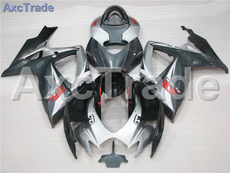 Motorcycle Fairings For Suzuki GSXR GSX-R 600 750 GSXR600 GSXR750 2006 2007 K6 06 07 ABS Plastic Injection Fairing Bodywork Kit motorcycle red rear pillion passenger seat for suzuki gsxr 600 750 gsxr 600 750 2006 2007 cushion leather
