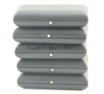5 sztuk Czarny Obój Reed Case Box dla 3 Sztuk Stroiki PU Skóra tanie i dobre opinie dingling