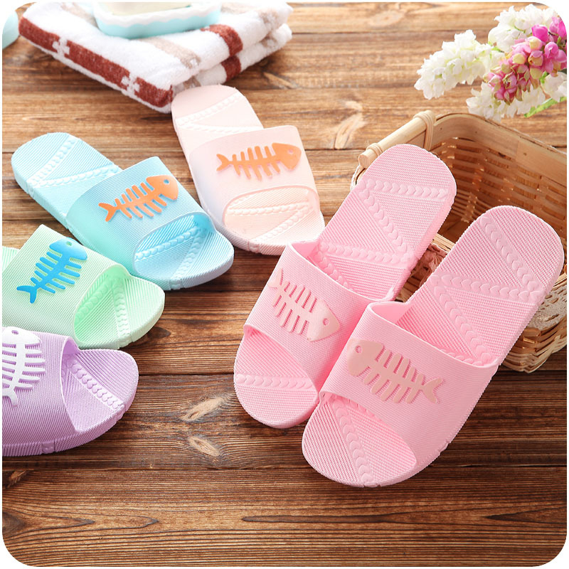 Bathroom Antiskid Small Fish Lovers Slippers Summer Men Couples Slippers Home Indoor Cool Slippers Indoor Wholesale