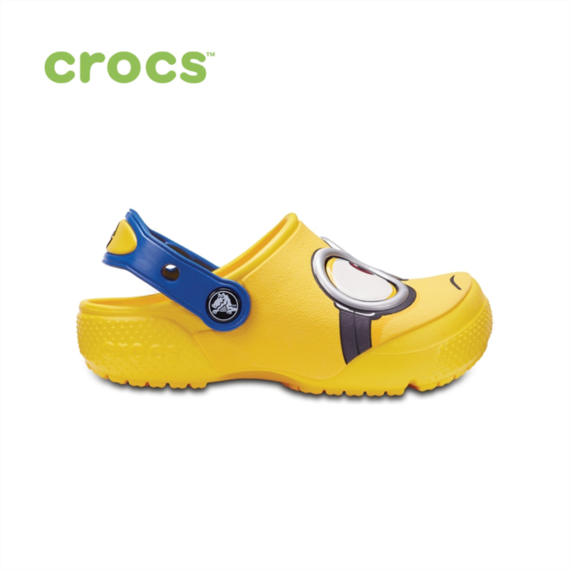 CROCS CrocsFunLab Minions Clog KIDS or boys/for girls, children, kids TmallFS shoes