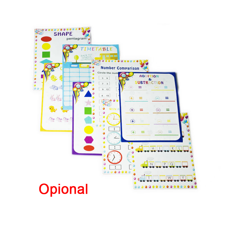 Image 5 - Dry Erase Pockets Reusable Oversized Size 10 X 13 inches Perfect Teacher Supplies for Classroom Organization and Decorations-in File Folder from Office & School Supplies