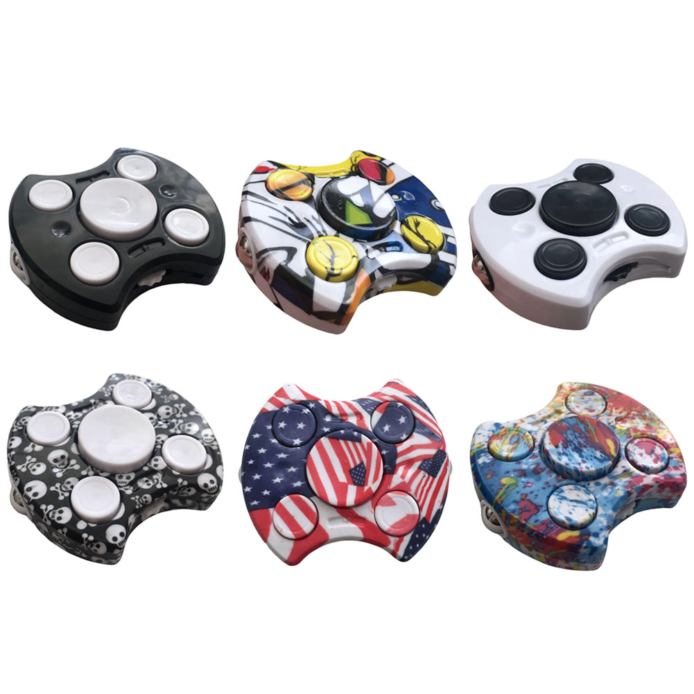 New Design Fidget Spinner Hand Fidget Cube Toy Spinner Finger gyro ABS Anti Stress Toys For Autism and ADHD