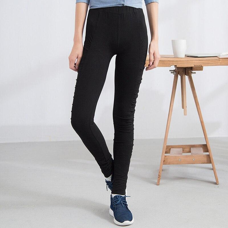 INMAN Automne Nouvelle Arrivée Fit Mode Coréenne Solide Couleur Femmes Leggings Pantalon