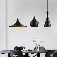 3pcs/pack Gold/Black/White ABC pendant lights(Tall/Fat/Wide)Design Aluminum shade musical Pendant Lamp Beat Light