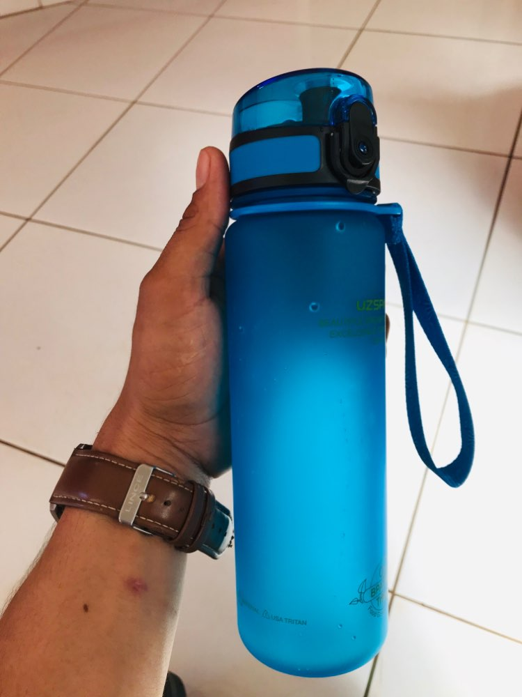Explosion Sports Water Bottles 500ML 1L Protein Shaker Outdoor Travel Portable Leakproof Tritan plastic My Drink Bottle BPA Free-in Water Bottles from Home & Garden on AliExpress