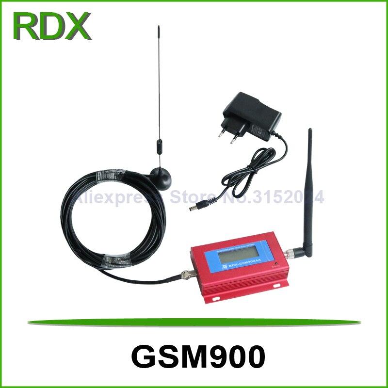 Низкая цена жидкокристаллический дисплей Cellular GSM900 ретранслятор сигнала усилитель мобильный телефон GSM репитер Booster Усилитель сигнала