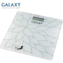 Весы напольные Galaxy GL 4807 (Предел 180 кг, шаг измерения 100 г, ЖК-дисплей, стекло, автовыключение)