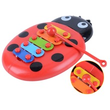 Toys Hobbies - Learning  - Baby Puzzle Insects Piano Early Music Eight Children Percussion Instrument Toys