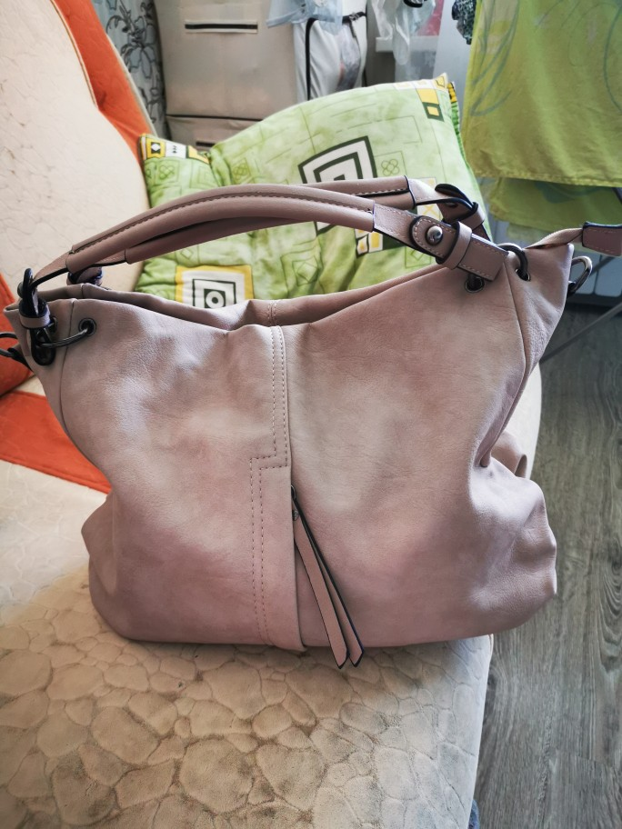 Big Casual Soft Tote Shoulder Bags For Women Large Vegan Leather Zipper Female Hobo High Quality Luxury Design Purse photo review