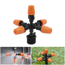 Get more info on the Multidirectional Garden Sprinklers 5-Head Micro Irrigation Watering Control Sprayers Adjustable Mist Nozzles with Hose Connector