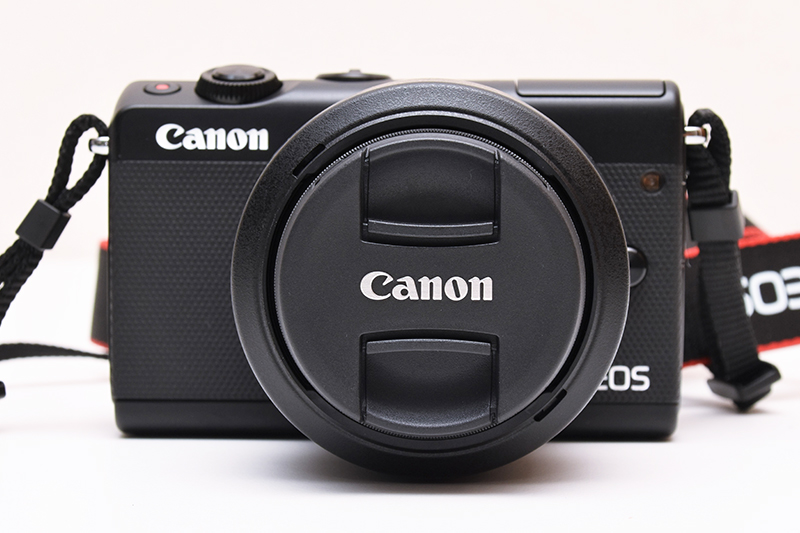 Canon EOS M100 Mirrorless Digital Camera with 15-45mm Lens - Black image