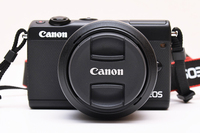 Canon EOS M100 Mirrorless Digital Camera with 15 45mm Lens Black