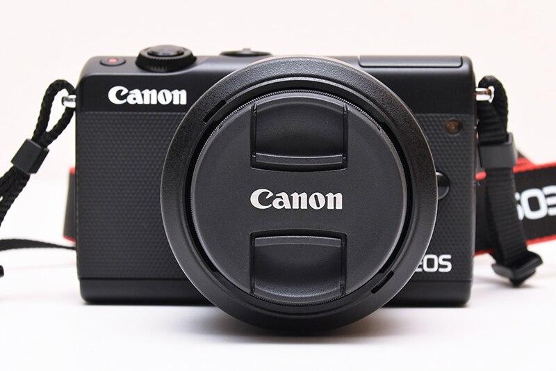 Canon M50 appareil photo sans miroir & EF-M 15-45mm f/3.5-6.3 est l'objectif STM, noir-APS-C 24.1MP-écran tactile 4 K-Vari-Angle-Wifi