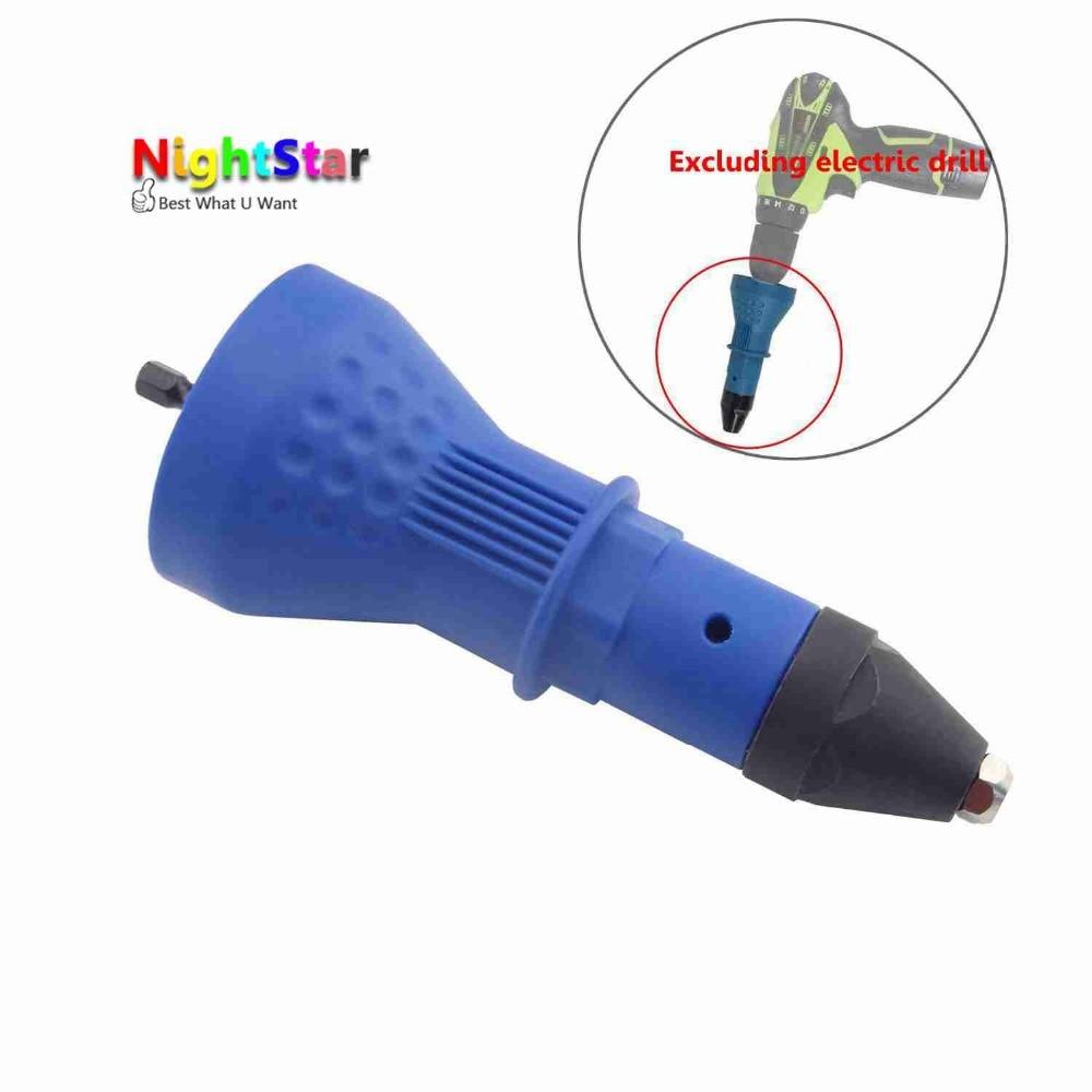 Electric Rivet Nut Gun Cordless Riveting Tool,Cordless Riveting Drill Adaptor,Insert Nut Power Tool Accessories