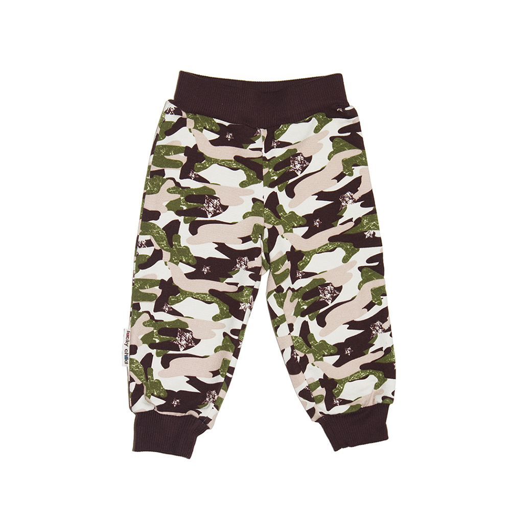 Pants Lucky Child for girls and boys 31-11pf (6M-24M) Military Leggings Hot Baby Children clothes trousers