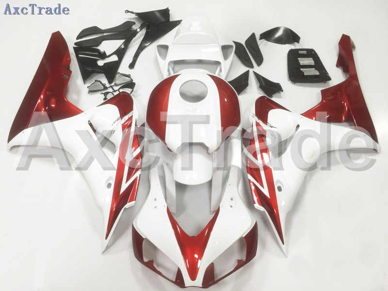 Motorcycle Fairings For Honda CBR1000RR CBR1000 CBR 1000 2006 2007 06 07 ABS Plastic Injection Fairing Bodywork Kit White A108 injection mold fairing for honda cbr1000rr cbr 1000 rr 2006 2007 cbr 1000rr 06 07 motorcycle fairings kit bodywork black paint