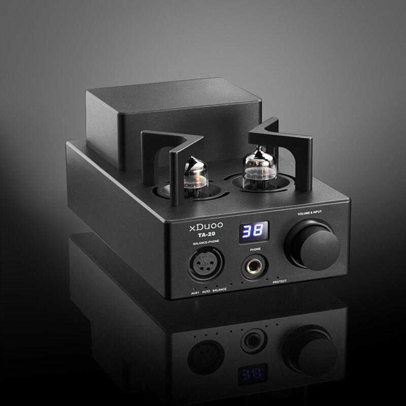 New Arrival XDUOO TA-20 High Performance Balanced Tube Headphone Amplifier Power Amplifier 2015 new performance yb1 20 high voltage