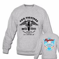 Foo Fighters FF United Stated Classic Rock Band Hoodies Sweatshirts There Is Nothing Left To Lose