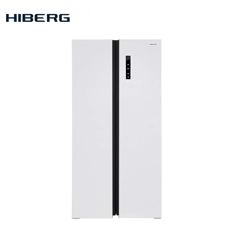 Refrigerator Side-by-Side  HIBERG RFS-480DX NFW цена 2017