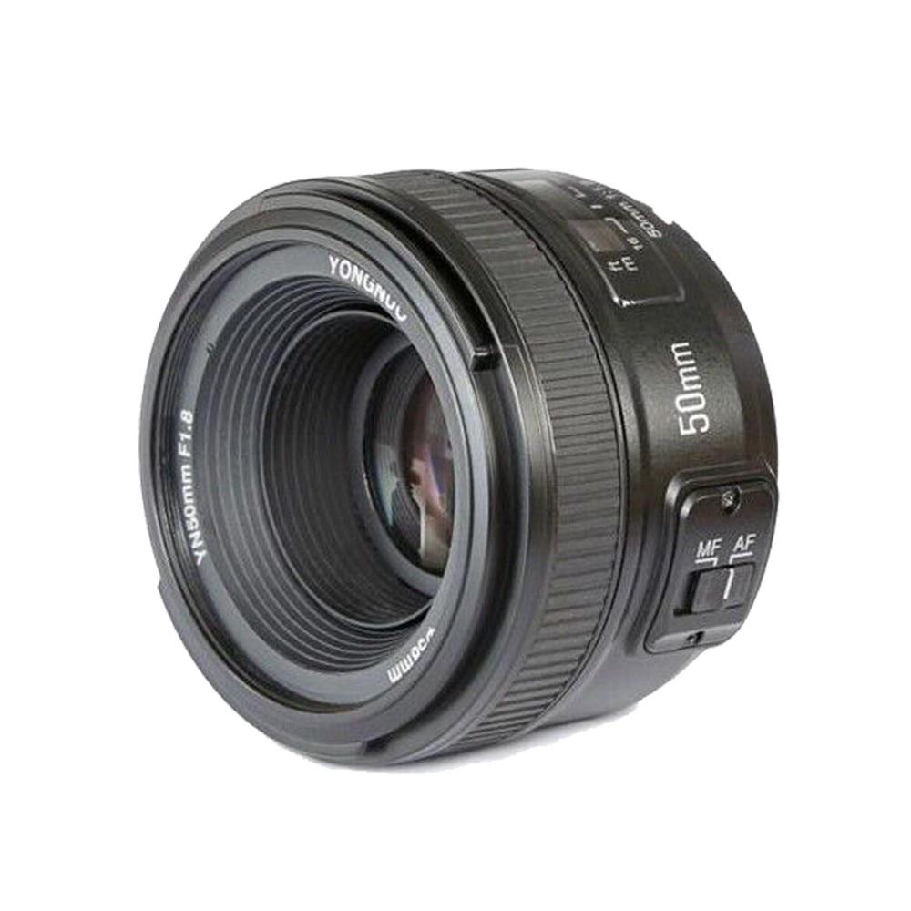 YONGNUO YN Camera Lenses EF 50mm f/1.8 AF Lens 1:1.8 Standard Prime Lens Aperture Auto Focus for Nikon AF-S 50mm 1.8  цена и фото