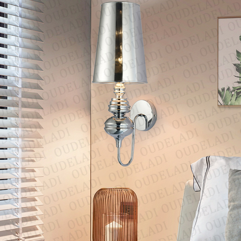 lampadas de parede modernas glodpratapretobranco pano sombra