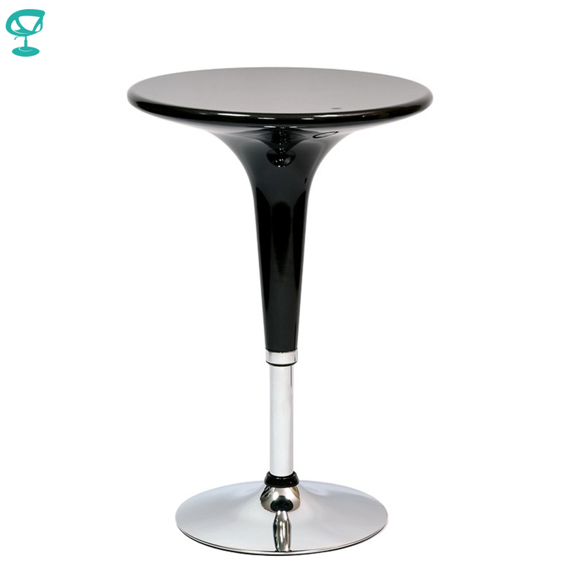 94916 Barneo T-1 Plastic High Breakfast Interior Table Bar Table Kitchen Furniture Dining Table Black Free Shipping In Russia
