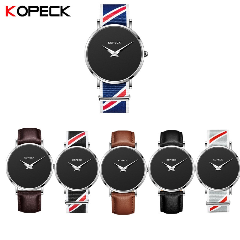 Kopeck Multi Style Mens Watches Top Brand Luxury Quartz Watch Fashion Casual Watch Male Wristwatches Business Relogio Masculino
