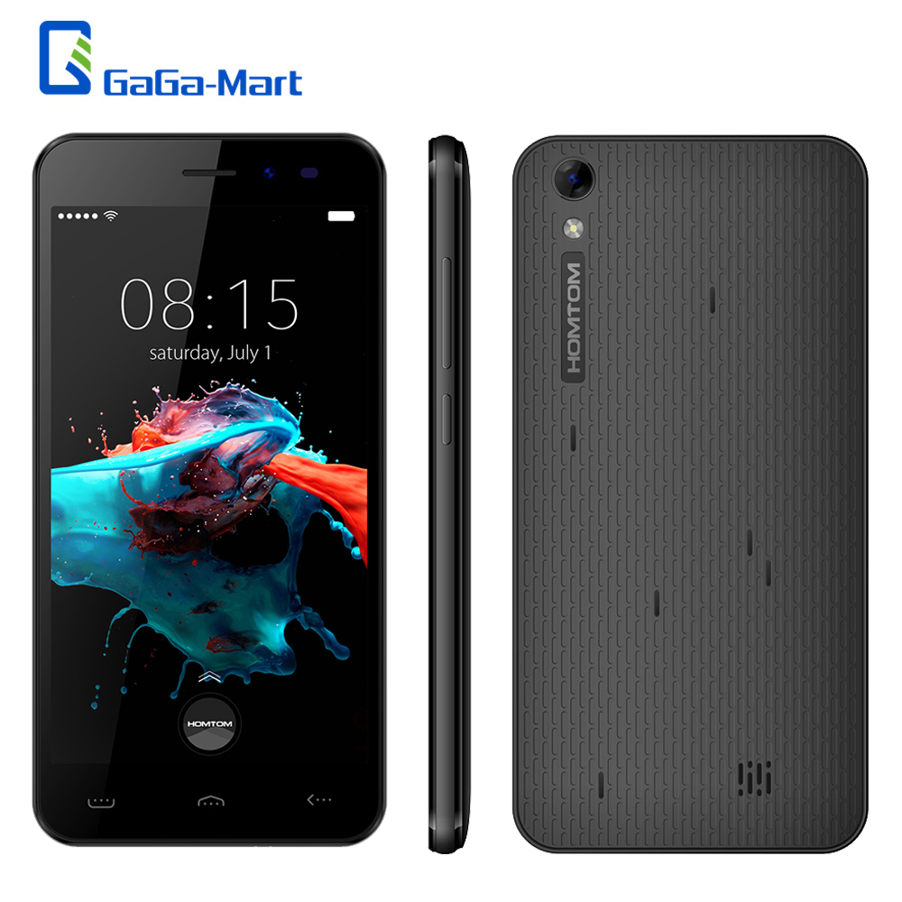 Original HOMTOM HT16 5 0 3000mAh 3G Smartphone Android 6 0 Quad Core MTK6580 1 3GHz