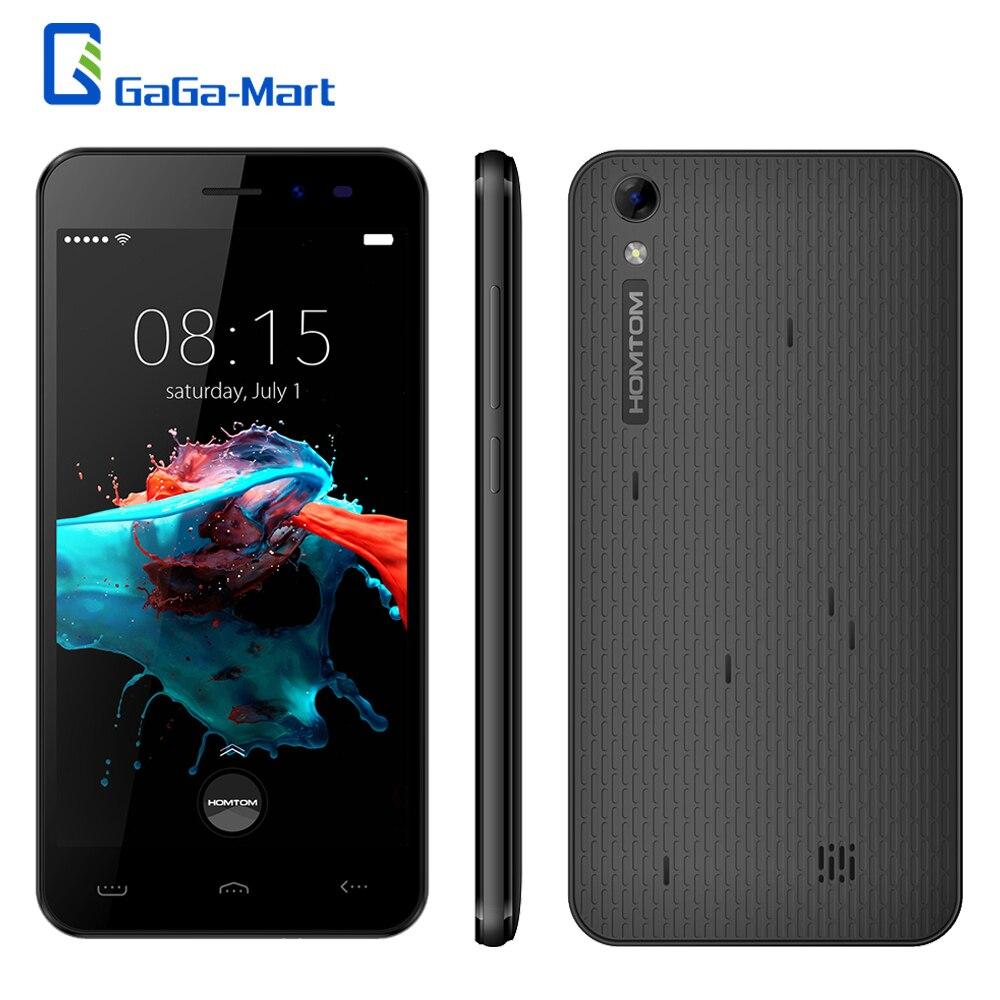 """オリジナル HOMTOM HT16 5.0 """"3000 mAh 3 3g スマートフォンの Android 6.0 クアッドコア MTK6580 1.3 Ghz の 1 ギガバイト + 8 ギガバイト 8MP 1280 * 720px HD WCDMA Mbile 電話  グループ上の 携帯電話 & 電気通信 からの 携帯電話 の中 2"""