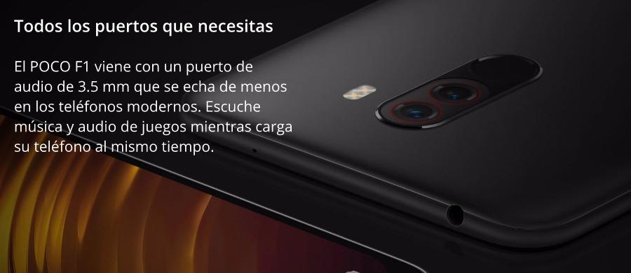 Versión Global Xiaomi Pocophone F1 128GB ROM 6GB RAM 7