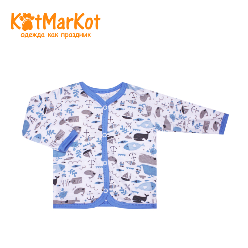 Blouse Kotmarkot 7158 children clothing cotton for baby boys kid clothes blouse for children kotmarkot 7685 kid clothes