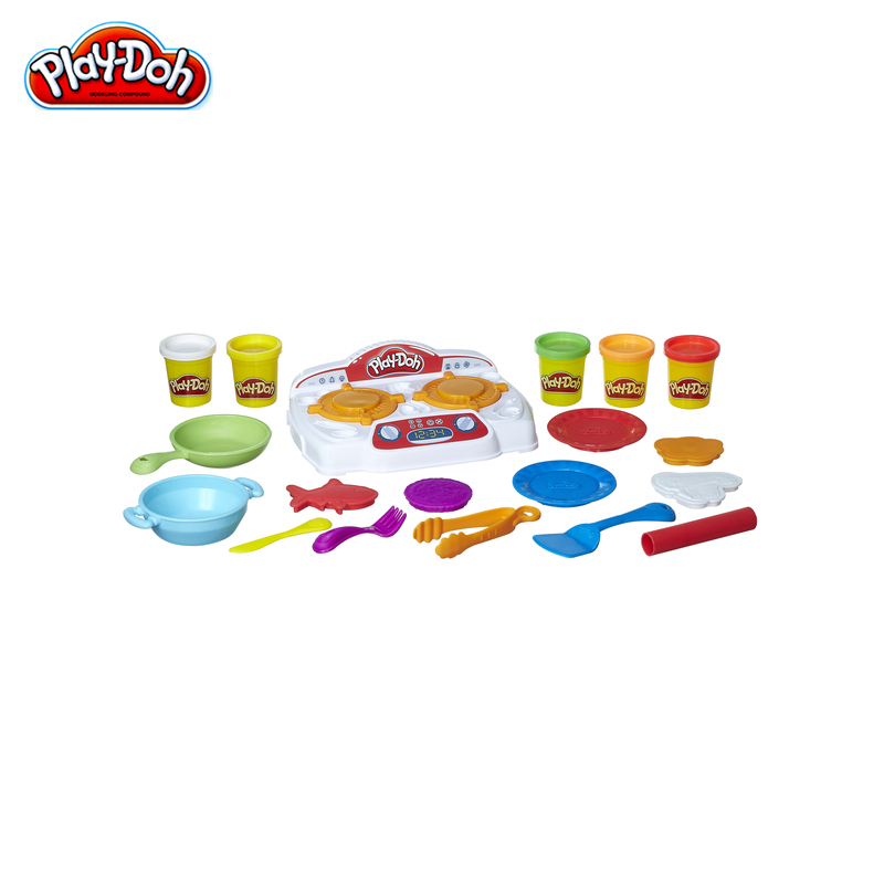 Modeling clay Hasbro PLAY-DOH playing set kitchen stove B9014