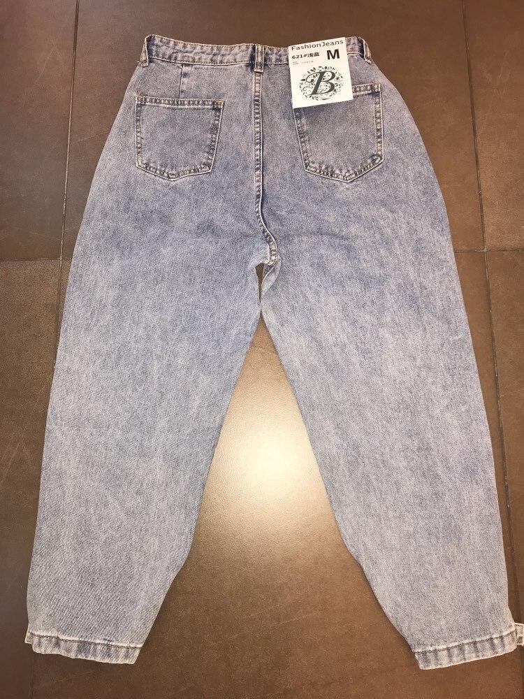 Women Mom Jeans Harem Jeans Casual Denim Pants Boyfriends Jeans Femme Trousers Ripped Jeans Vintage Retro photo review