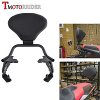 Detachable Rider Backrest Kit Rear Passenger Cushion Pad Seat Sissy Bar With Mounting Kit for 2017 2018 Honda X ADV X ADV 750