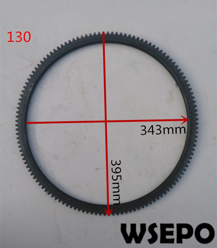 Top Quality! Flywheel Gear Ring fits for 4105/4108 Tractor 4 Cylinder 04 Stroke Water Cooling Diesel Engine Top Quality! Flywheel Gear Ring fits for 4105/4108 Tractor 4 Cylinder 04 Stroke Water Cooling Diesel Engine