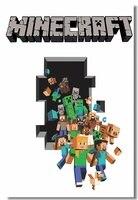 Custom Canvas Wall Decor Minecraft Game Poster Minecraft Stickers 3D Wallpaper Minecraft Rome Decoration Kid Bedroom