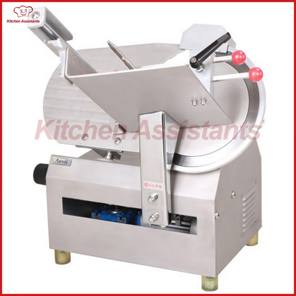 300A electric whole stainless steel commercial full-automatic meat slicer cutter