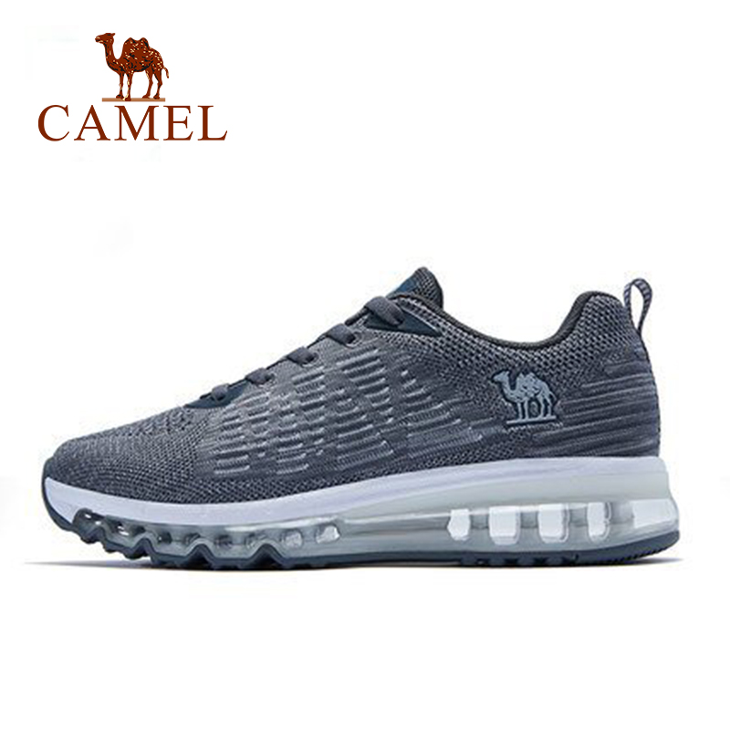 CAMEL Men Running Shoes Air Cushion MAX Lightweight Sneakers shock Sports Shoes Adult Athletic Life For