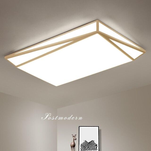 US $106.48 20% di SCONTO|Nero/bianco LED di illuminazione lampadario  moderno Per Soggiorno Sala Da Pranzo Camera Da Letto luminarias para teto  ...