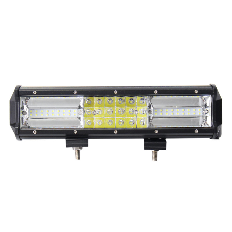 7D Tri Row 324W LED Work Light Bar Spotlight Flood Lamp Combo Driving Fog Offroad 12Inch LED Work Car Lights For Truck SUV 4WD 12 inch 72w led work light bar for indicators motorcycle driving offroad boat car tractor truck flood 4x4 suv 12 24v fog light