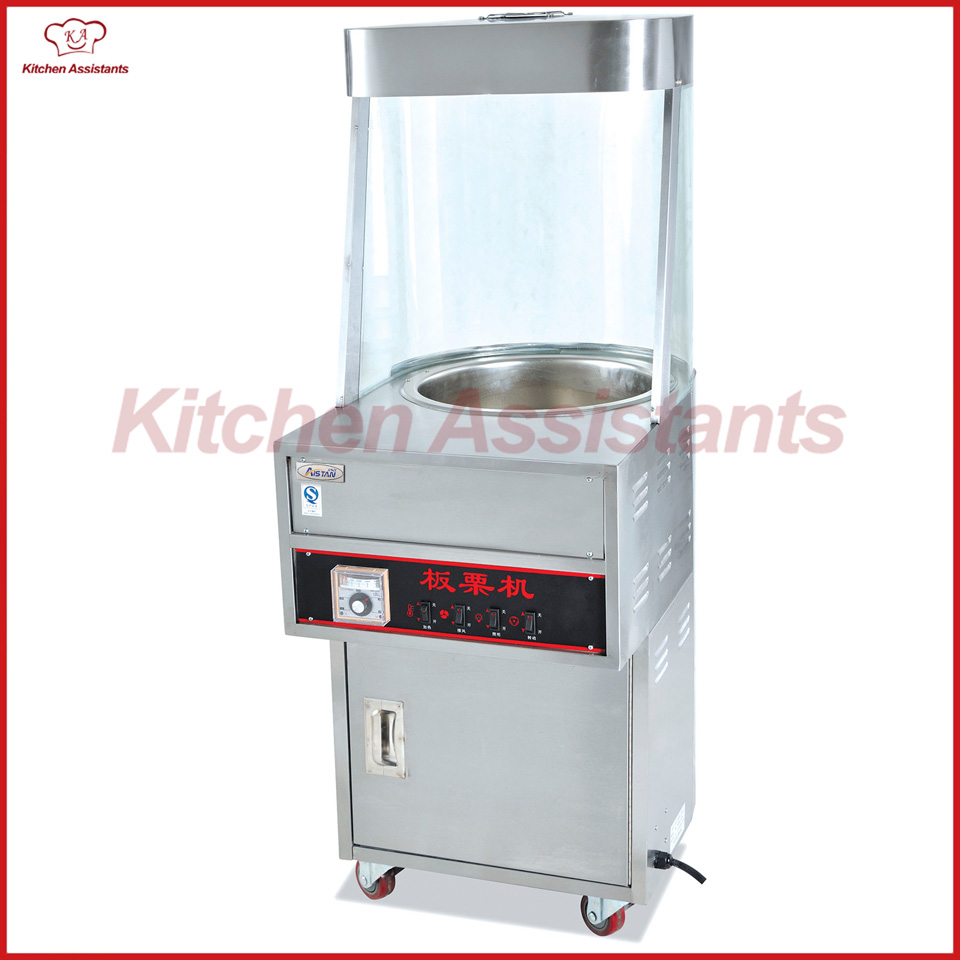 купить EB460 electric commercial vertical chestnut roaster machine по цене 99216.58 рублей