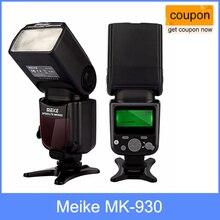 Meike Speedlite MK 930 השני, MK930 II פלאש מבזק פנס עבור Panasonic מצלמות כמו Yongnuo YN560II YN 560 השני