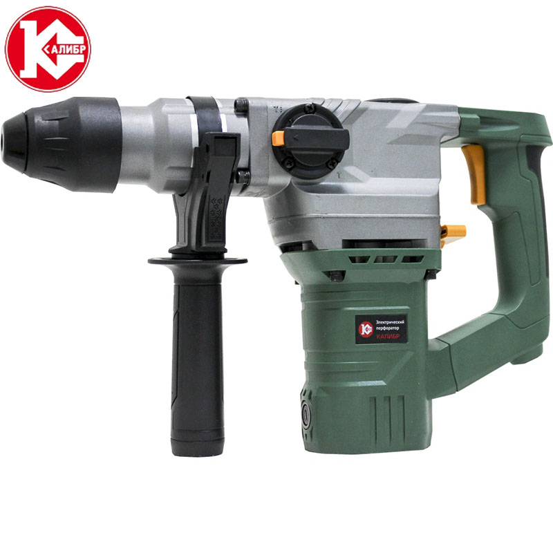 Kalibr EP-870/26 AC Electric Rotary Hammer with Accessories Impact Drill Power Drill Electric Drill 4pcs door hinge drill bit set precisely positioned for woodworking hole dilating drill m25