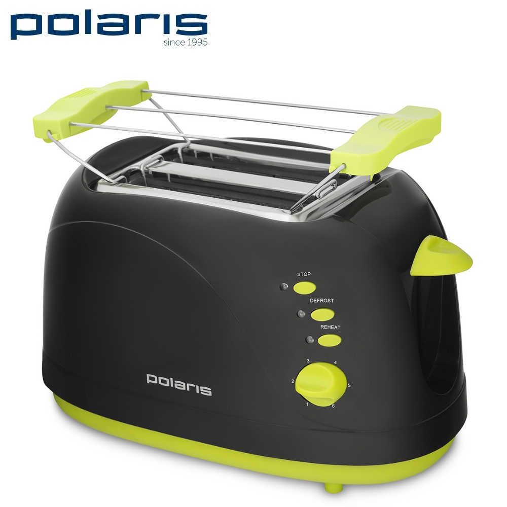 Toaster Polaris PET 0706LB Toaster sandwich home kitchen appliances cooking fry bread to make toasts Bread Maker grill free shipping fashion toaster